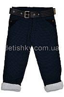 Зимние джинсы на махре для мальчика (80 р-р)