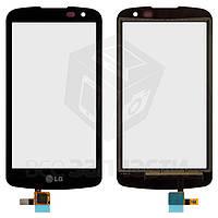 Сенсорный экран для мобильных телефонов LG K4 K121, черный
