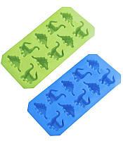 """Форма для льда Wellberg """"Динозавры"""" 10 ячеек"""