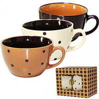 Набор чашек для бульона 470мл Карамель 2 шт