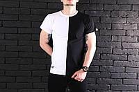 Мужская футболка Pobedov T-shirt segmentation 🔥 (Победов) Black-White