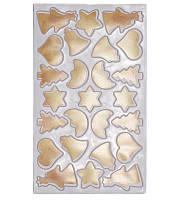 """Форма """"Мой Мир"""" для вырубки печенья """"Рождество"""" 25 ячеек  37х22см"""