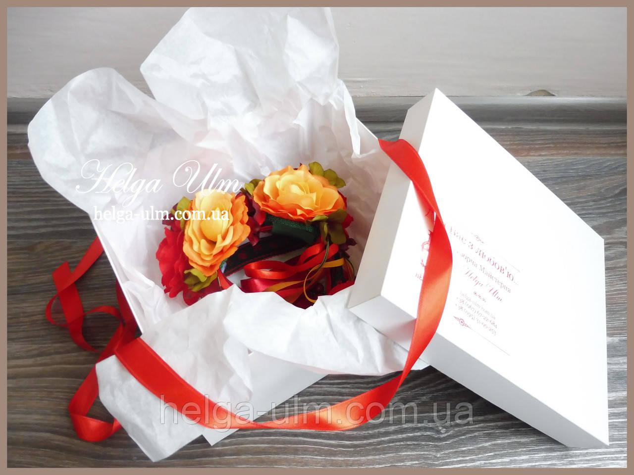 Подарункова коробка для ексклюзивних головних уборів  продажа 9e2a02faf7657