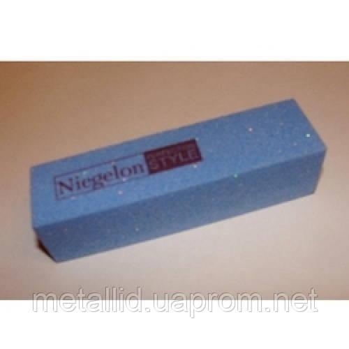 Баф Niegelon 4-х сторонний шлифовальный синий 150*150