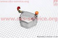 Крышка головки цилиндра (клапанов) 178F Витязь/Кама 2отв.