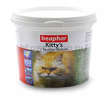 Kitty's + Taurine + Biotine витаминизированные лакомства с биотином и таурином для кошек Beaphar