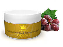 """Скраб для лица и тела - """"Face and body Scrub with Champage"""", 150 мл"""