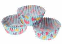 Бумажные формы для кексов, маффинов 30 штук. с бабочками