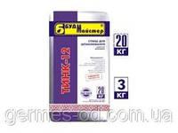 Шпаклевка финишная,серая,для внутр и наружн работ, ТИНК-12, 20кг (шт)