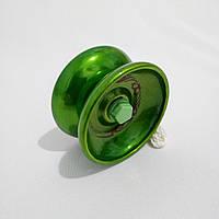 Йо-йо , металл. с подшипником (цвет- зелёный) jo-jo, ёо-ёо, ёё