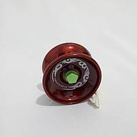Йо-йо , металл. с подшипником (цвет- бордовый) jo-jo, ёо-ёо, ёё