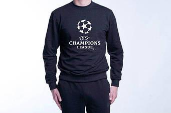 Свитшот мужской UEFA  черный