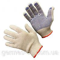 Перчатки х\б с резиновым вкраплением,Китай (шт)