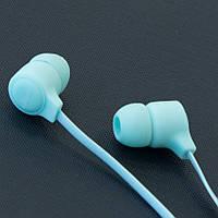 Гарнитура AIYALE A27 (Голубой) для самсунга вакуумные наушники с микрофоном айфона 3,5 гелекси