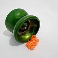 Йо-йо , металл. с подшипником (цвет- зеленый ) jo-jo, ёо-ёо, ёё