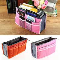 Органайзер для сумочки Bag-in-Bag Розовый. Косметичка