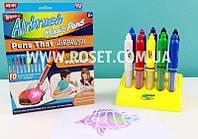 Волшебные фломстеры (распылитель-трафарет) - AirBrush Magic Pens Wham-O