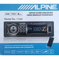 Автомагнитола MP3 ALPINE 1169 USB/SD/FM (алпайн 1169)