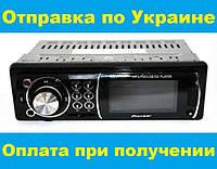 Автомагнитола Pioneer 1125 Usb+Sd+Fm+Aux+ пульт (4х50W!)