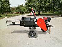 Тюковальщик сена Ярило с бензиновым двигателем WEIMA 190F-L (16 л.с.)
