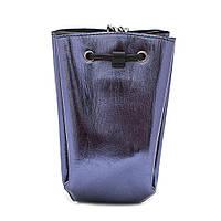 Клатч женский кожаный  NN KL-NN09724 синий