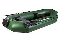 Лодка надувная гребная AQUA-STORM серии MAGELLAN Ma280Dt (с навесным транцем)