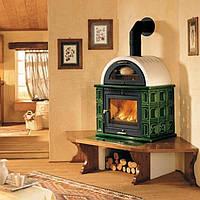 Печь-камин на дровах Piazzetta Kamf с духовкой