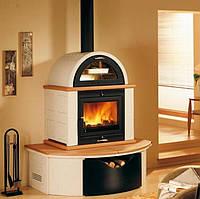 Печь-камин на дровах Piazzetta MO1MF с духовкой