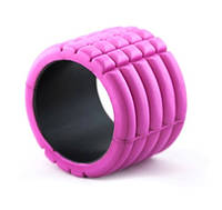Роллер массажный GRID Mini Foam Roller CS-5716 розовый