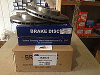 Передние тормозные диски Kia Ceratto 2004-2009 PHC Valeo R2037