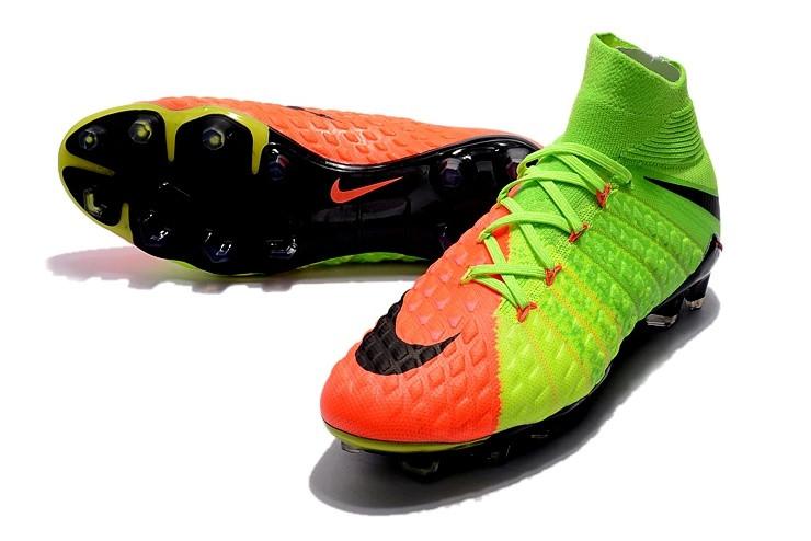 21b443fe Футбольные бутсы Nike Hypervenom Phantom III DF FG Electric  Green/Black/Hyper Orange, цена 1 800 грн./пара, купить Могилев-Подольский —  Prom.ua ...