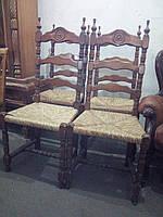 Деревянные стулья в Бретонском стиле