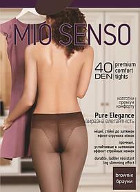 "Колготки Mio Senso ""Pure Elegance 40 den"" brownie, size 2 (3950) | 5 шт."