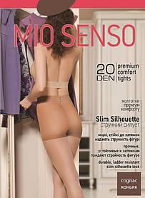 "Колготки Mio Senso ""Slim Silhouette 20 den"" cognac, size 2 (3783) | 5 шт."