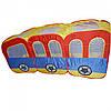 Палатка M 3328 (6шт) паровозик, 210-70-101см, в сумке, 38-37-7см