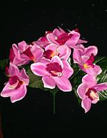 Букет орхидеи искусственной 14 голов