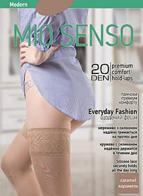 "Чулки Mio Senso ""EverydayFashion 20 den"" modern caramel, size 2 (4421)   2 пары"