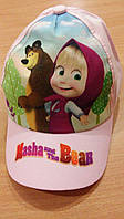 Кепка  для девочки Маша и Медведь