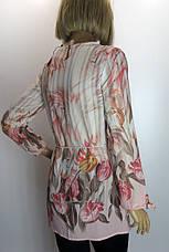 Блузка  с цветочным принтом Big Dart, фото 3