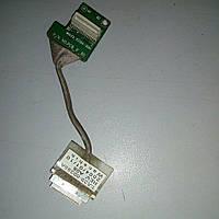Шлейф инвертора матрицы Samsung X15+ (BA39-00395A)