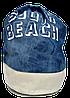 Женский пляжный рюкзак синего цвета UUU-000021