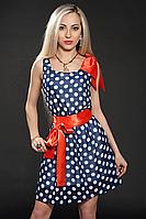 Платье шифоновое мод 307-2,44-46