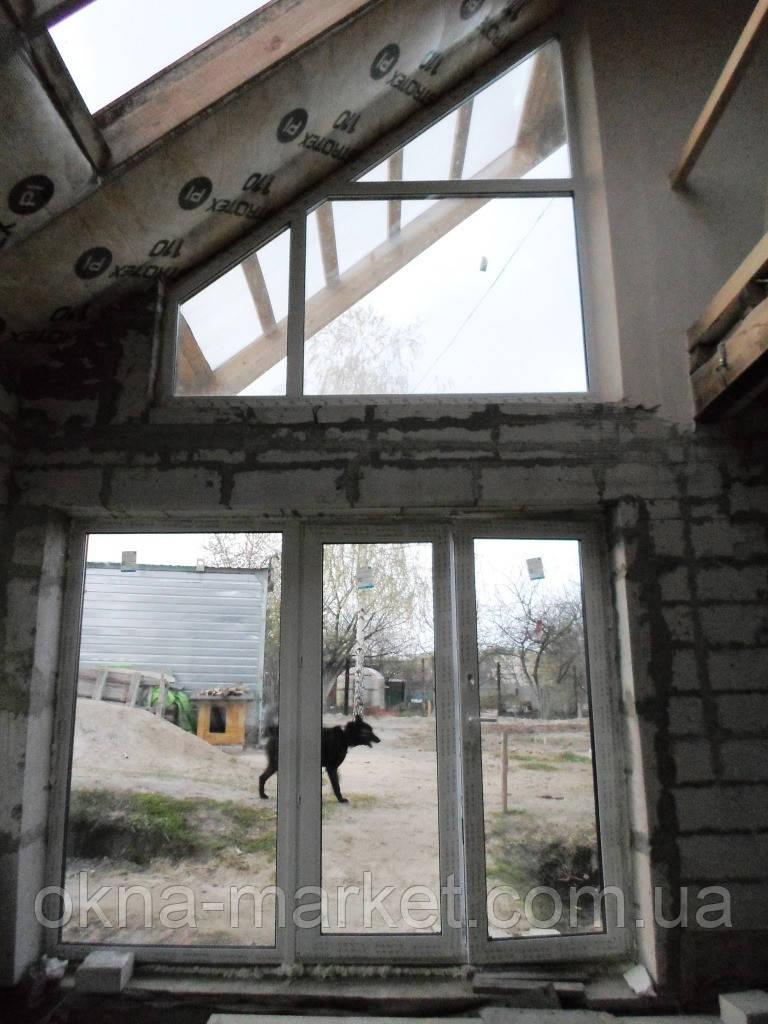Нестандартные окна ПВХ
