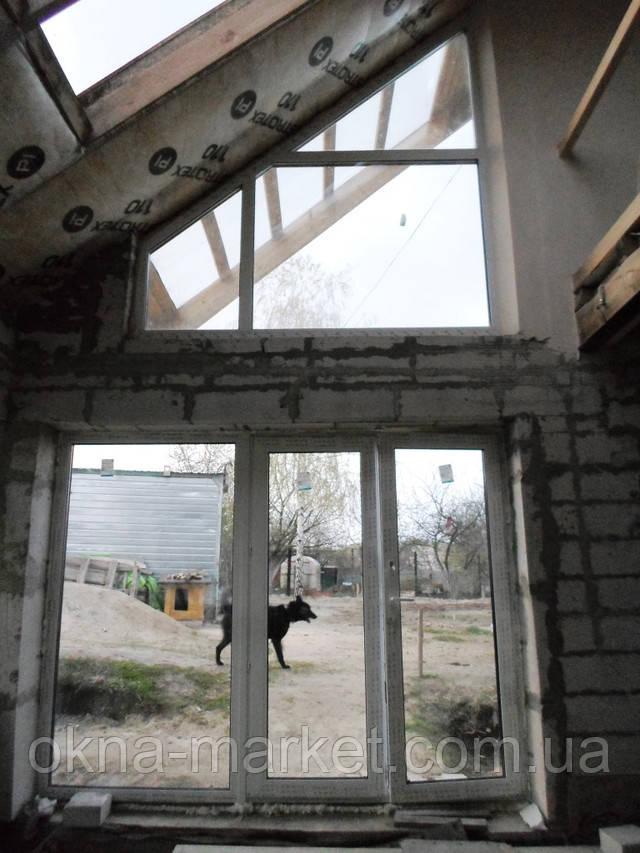 Заказать окна нестандартные в Киеве и пригороде