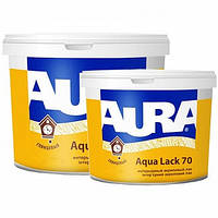Интерьерный акриловый лак Aqua Lack 70 Aura Eskaro 10 л
