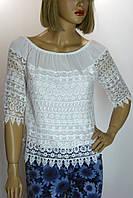 Блуза с кружевом  Siradisi