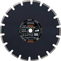 Алмазный диск по асфальту А 80 диаметром 350 мм. х 3,0 мм.
