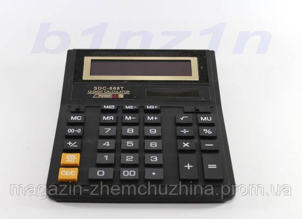 Калькулятор KK 888T (90) 12-разрядный электронный., фото 2