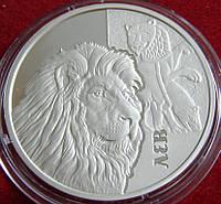Серебряная монета Украины. 5 гривен 2017 год. ЛЕВ