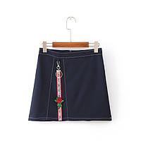 Короткая юбка трапецией, фото 1